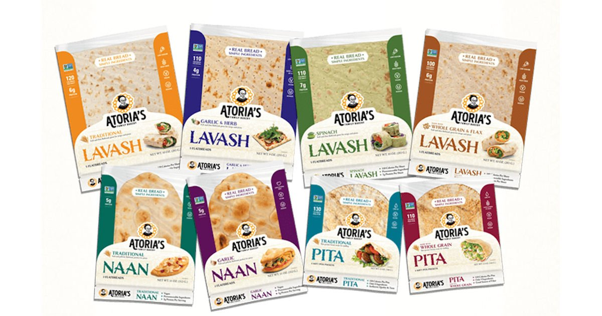 Free Atoria's Family Bakery Flatbread Product Coupon