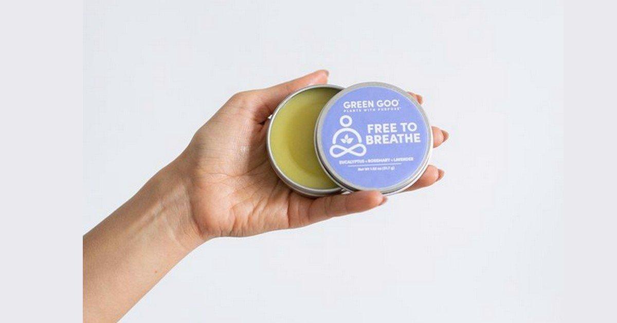 Free Green Goo Free to Breathe Natural Decongestant