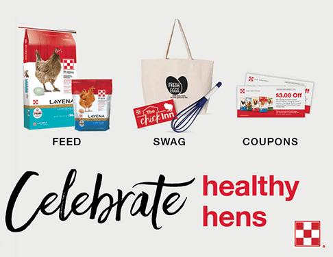 FREE Celebrate Healthy Hens Swag Bag